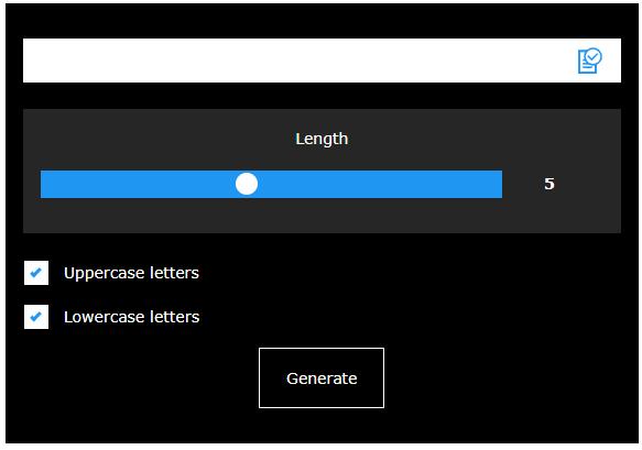 jQuery Password Generator - 2